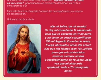 💖 Sagrado Corazón de Jesús 💖