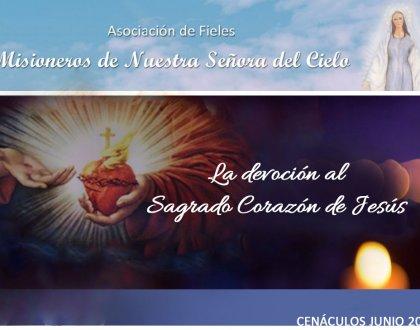Cenáculos de Junio: El Sagrado Corazón de Jesús