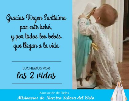 💙 Gracias Santa Virgen 💙