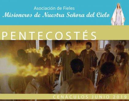 Cenáculos de Junio: Pentecostés