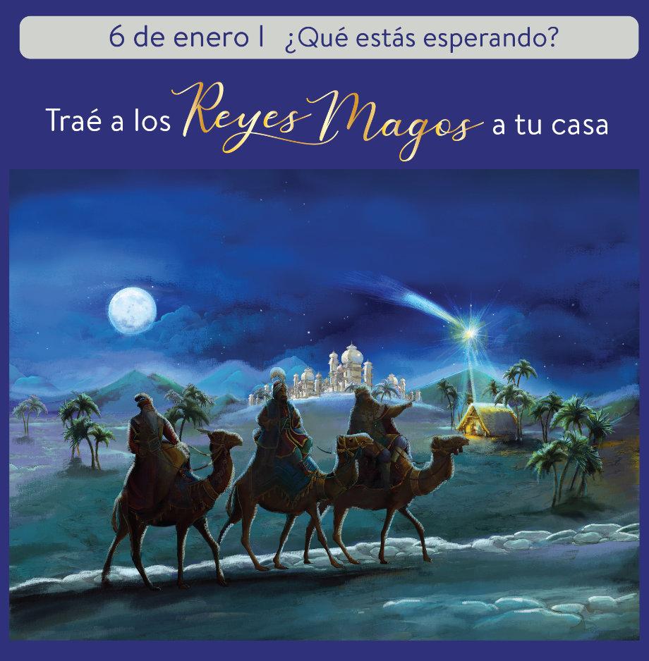Veni a pasar Reyes en la Casa de la Virgen ✨