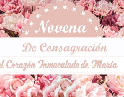 Novena de Consagración al Corazón Inmaculado de María