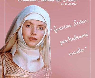 Novena a Santa Clara de Asís