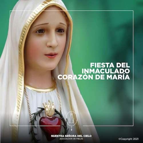 Fiesta del Inmaculado Corazón de María
